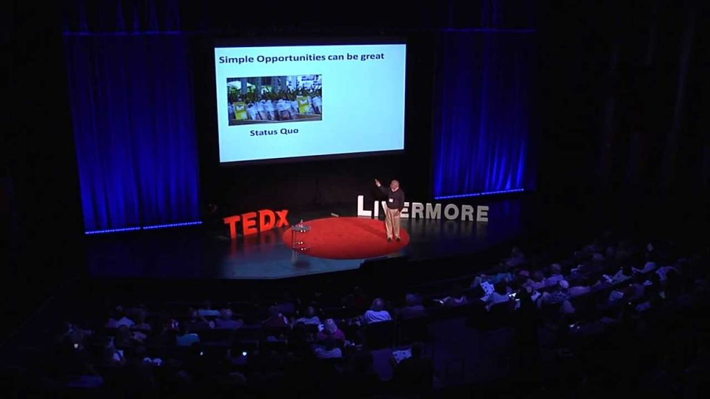 Chuck House at TEDx