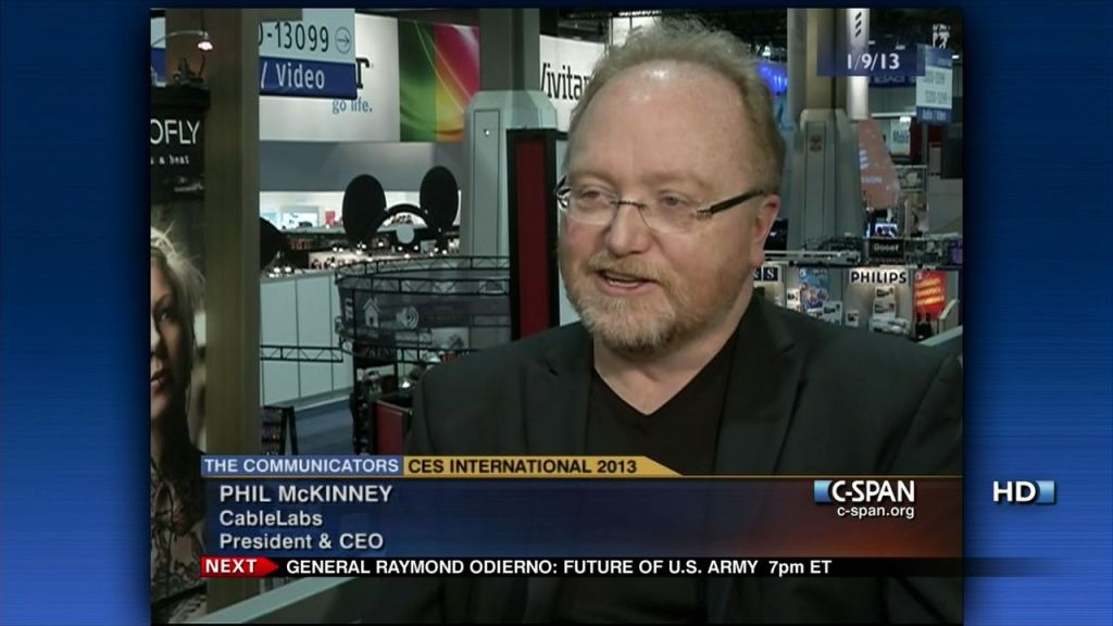 TV appearance by Phil McKinney