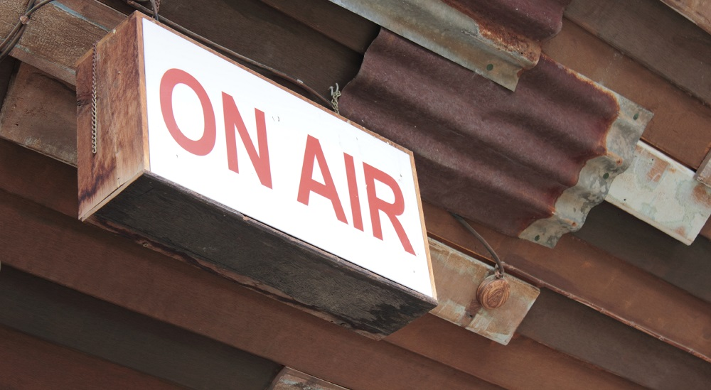 Live and on the air