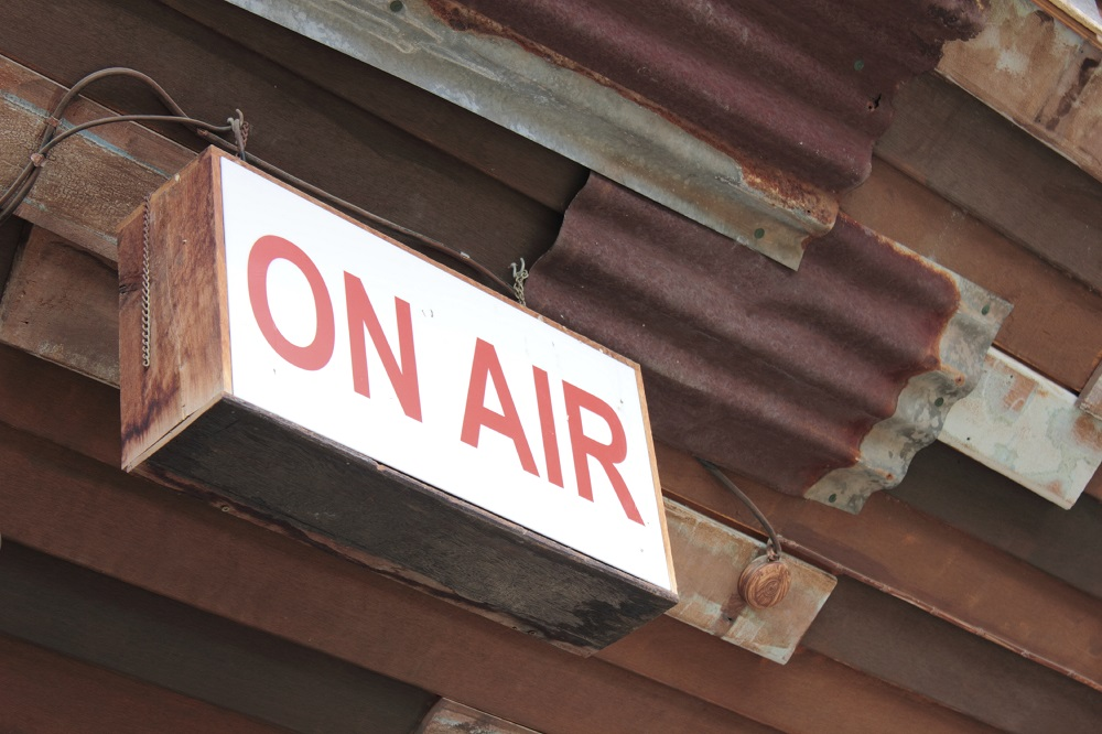 Live and on-the-air