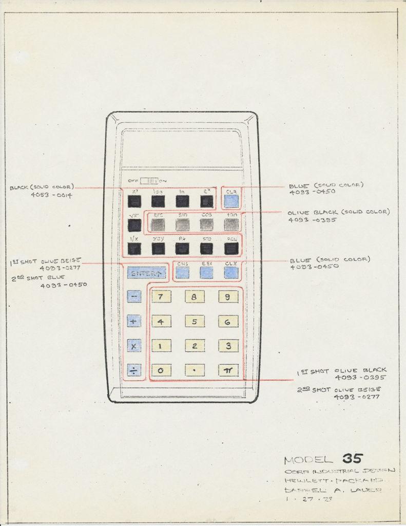 hp35 calculator