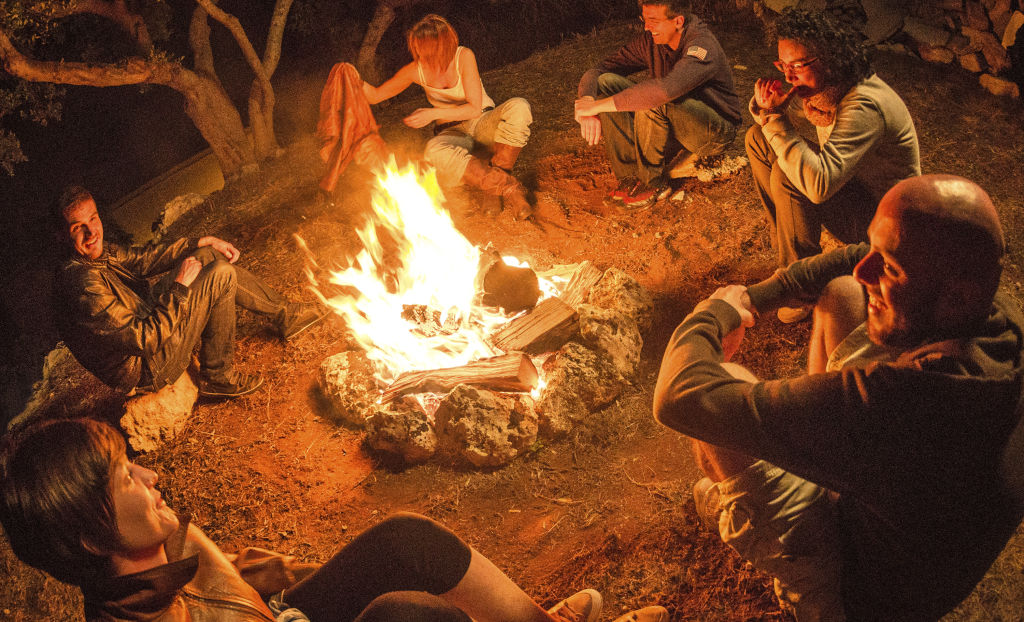 stories and storytelling around the campfire