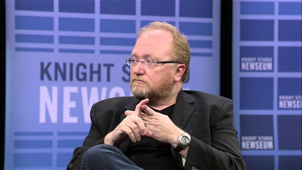Phil McKinney being interviewed at Newseum