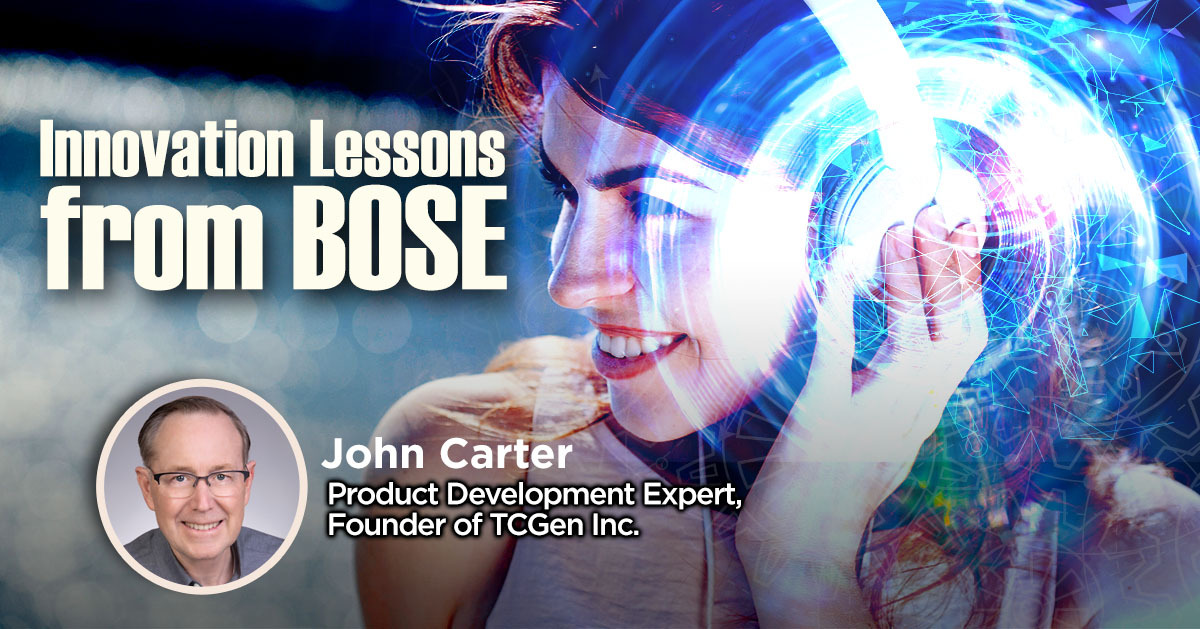 Innovation Lessons from Bose